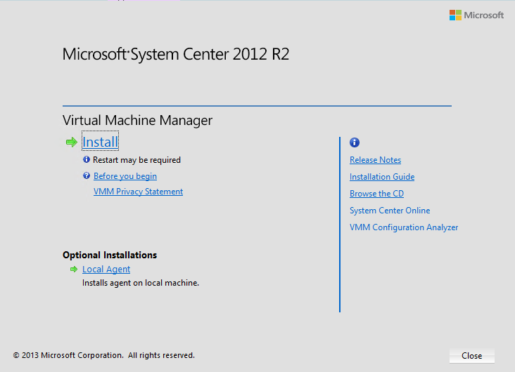 Microsoft System Center 2012 R2 Virtual Machine Manager 1