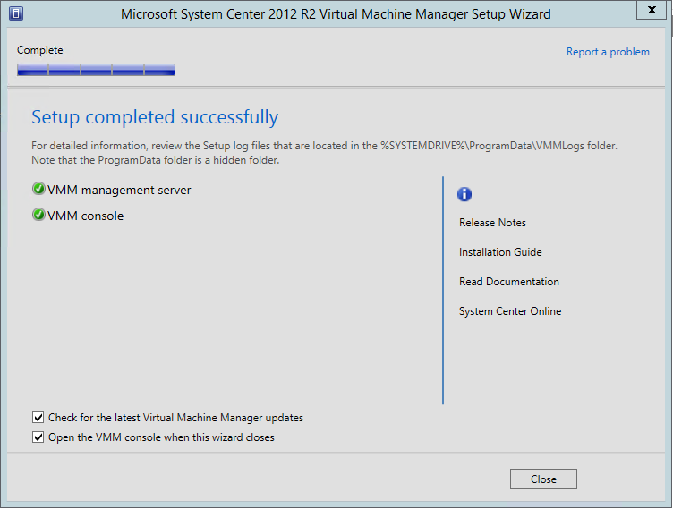 Microsoft System Center 2012 R2 Virtual Machine Manager 6