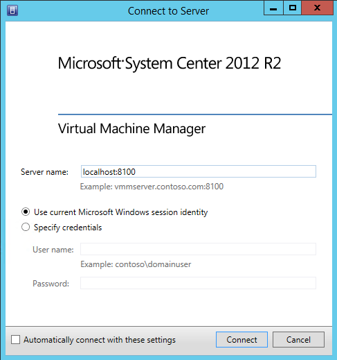 Microsoft System Center 2012 R2 Virtual Machine Manager 7
