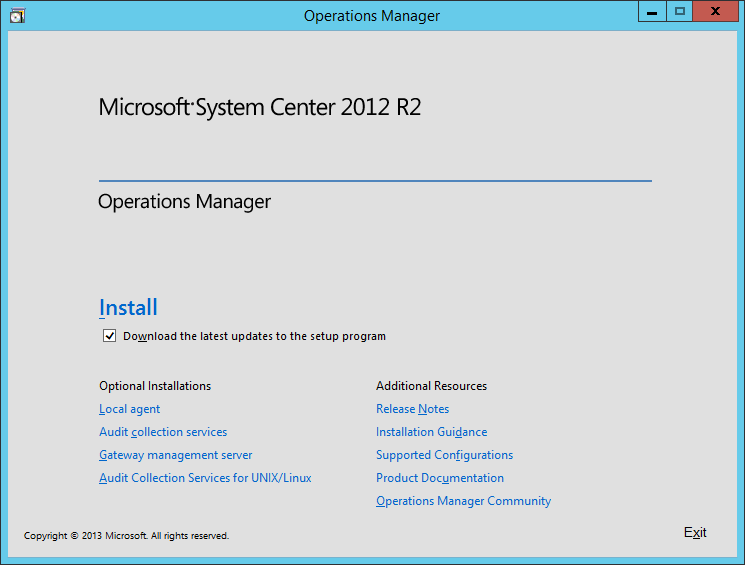 Microsoft System Center 2012 R2 Operations Manager 1